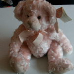 RUSS Russell Berrie bears of the past pink Isabella @sold@